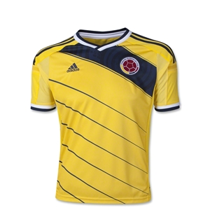 Colombia 2014 Youth Home Soccer Jersey