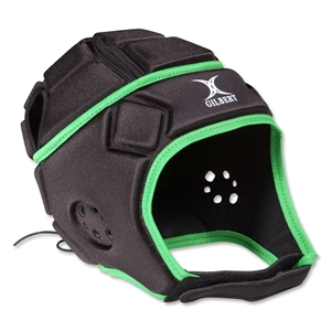 Gilbert Attack Scrum Cap (Black/Green)