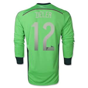 Germany 2014 ZIELER Home LS Goalkeeper Jersey