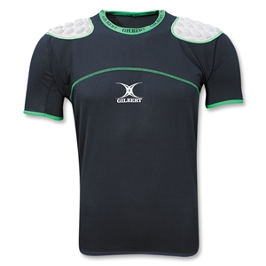 Gilbert Xact Rugby Protection Vest (Green/Black)