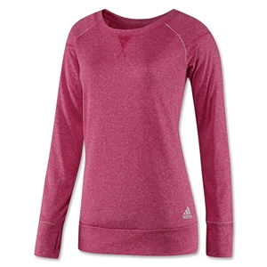 adidas Boyfriend Terry Women's Crew (Berry)