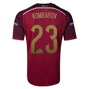Russia 2014 KOMBAROV Home Soccer Jersey
