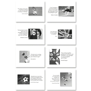 Soccer Inspirational Cards for Guys