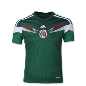 Mexico 2014 Youth Home Soccer Jersey