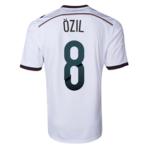 Germany 2014 OZIL Home Soccer Jersey