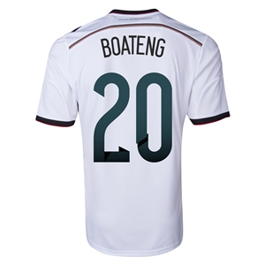 Germany 2014 BOATENG Home Soccer Jersey