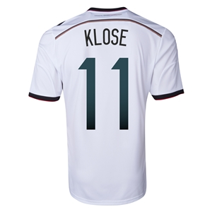 Germany 2014 KLOSE Home Soccer Jersey