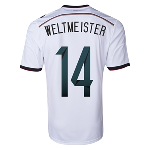 Germany 2014 WELTMEISTER Home Soccer Jersey