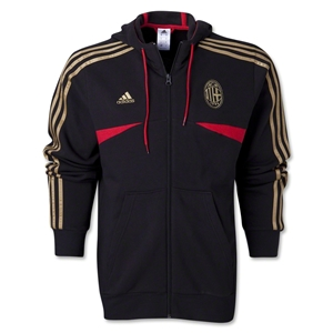 AC Milan Core Hoody With Zip