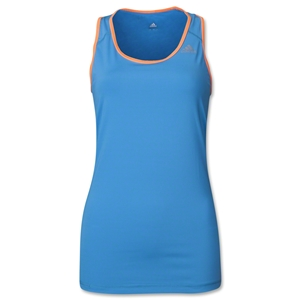 adidas Women's TechFit Tank (Roy/Orange)