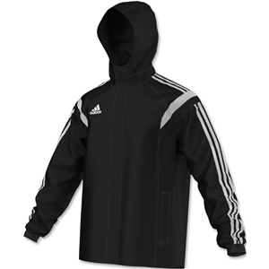 adidas Condivo 14 All-Weather Jacket (Blk/Wht)