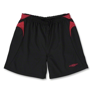 Umbro Forest Soccer Shorts (Blk/Red)