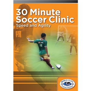 30 Minute Soccer Clinic Speed & Agility DVD