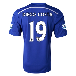 Chelsea 14/15 19 DIEGO COSTA Home Soccer Jersey