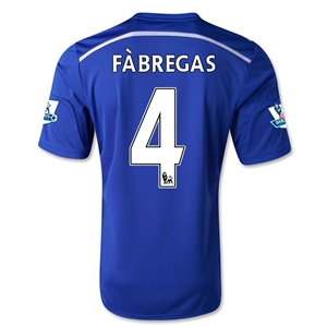 Chelsea 14/15  4 FABREGAS Home Soccer Jersey