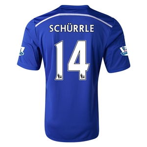 Chelsea 14/15 14 SCHURRLE Home Soccer Jersey