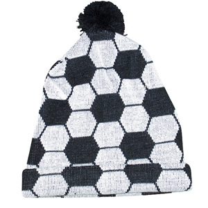 Winter Soccer Hat-Set of Two