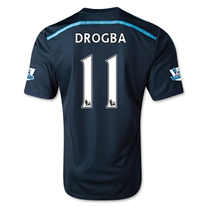 Chelsea 14/15 11 DROGBA Third Soccer Jersey