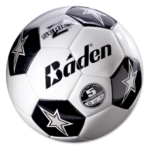 White/Black Baden Z-Series Training Soccer Ball