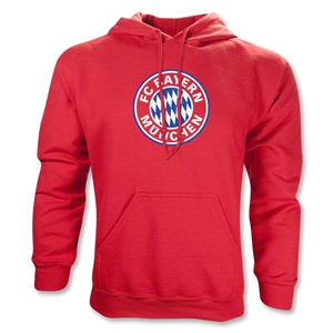 Bayern Munich Logo Hoody (Red)