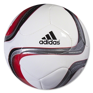 adidas Euro Qualifier Top Glider (White/Black/Iron Metallic)
