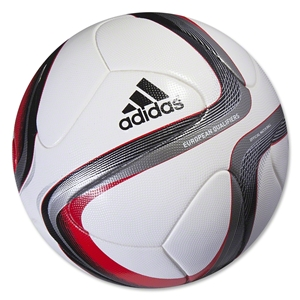 adidas Euro Qualifier Official Match Ball (White/Black/Iron Metallic)