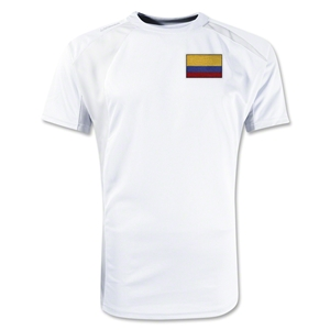 Colombia Gambeta Soccer Jersey (White)