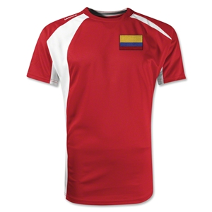 Colombia Gambeta Soccer Jersey (Red)