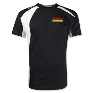 Germany Gambeta Soccer Jersey (Black)