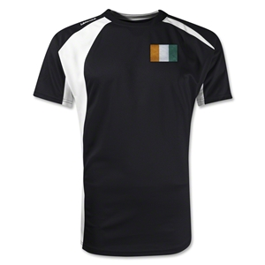 Cote d'Ivoire Gambeta Soccer Jersey (Black)