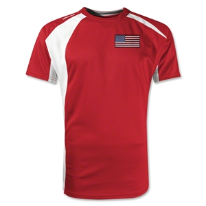 USA Gambeta Soccer Jersey (Red