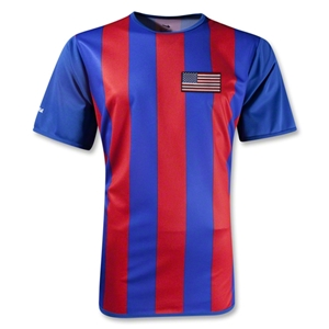 USA Internazionale Soccer Jersey (Royal/Red)
