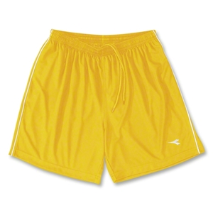 Diadora Ermano Soccer Shorts (Yellow)