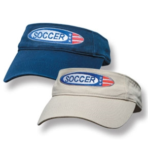 Flag Visor (Navy)