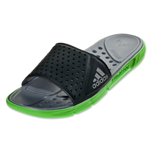adidas CC Slide Revo Sandal (Night Shadow/Ray Green)