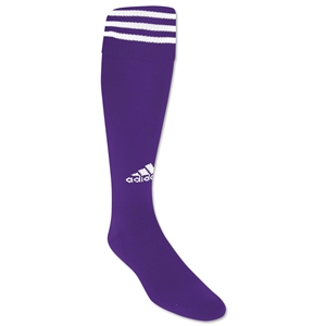adidas Copa Zone Cushion Socks (Pur/Wht)