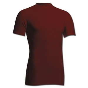 Power-Tek Compression Crew Neck (Maroon)