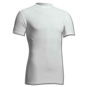 Power-Tek Compression Crew Neck (White)