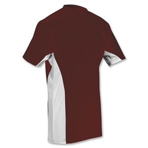 Power-Tek Pieced Shooter T-Shirt (Maroon/Wht)