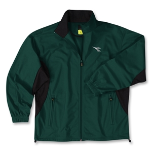 Diadora Torre Soccer Jacket (Dark Green)