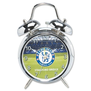 Chelsea Chrome Clock