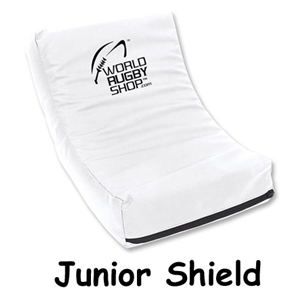 Junior Rugby Shield (White)
