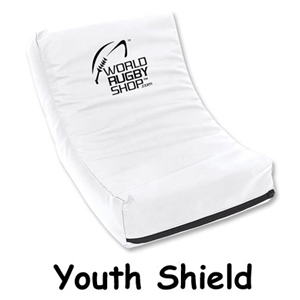 Youth Rugby Shield (White)