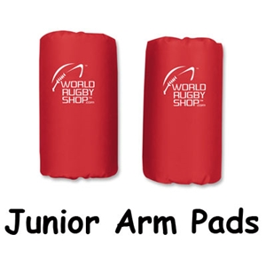Junior Rugby Arm Pads (Red)