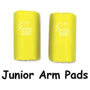 Junior Rugby Arm Pads (Yellow)