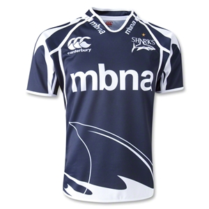 Sale Sharks Pro 12/13 SS Home Rugby Jersey