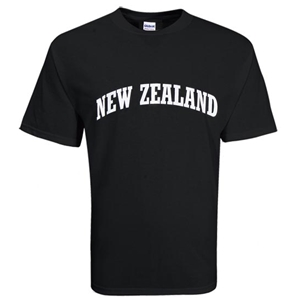 New Zealand SS T-Shirt (Black)