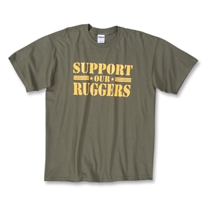 Support Our Ruggers SS T-Shirt (Olive)