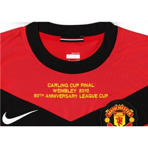 Carling Cup Patch 2010 Final Embroidery