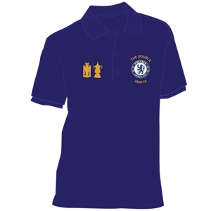 Chelsea 09/10 Double Trophy & Embroidery